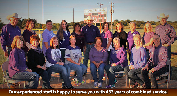 Our experienced staff is happy to serve you with 392 years of combined service!